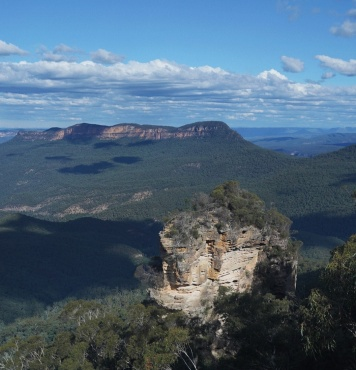 View of Blue Mountains in Australia