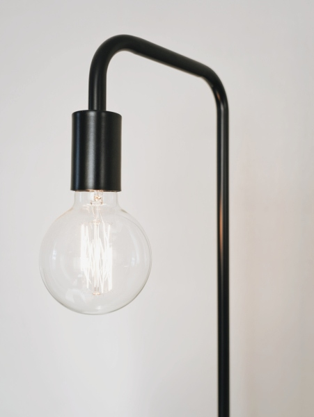 A simple, minimalist, modern lamp